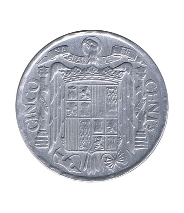 Moneda de España 5 centimos 1953 Madrid EBC  - 2