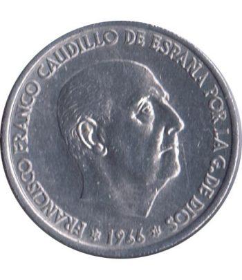 Moneda de España 50 centimos 1966 *19-71 Madrid SC  - 2