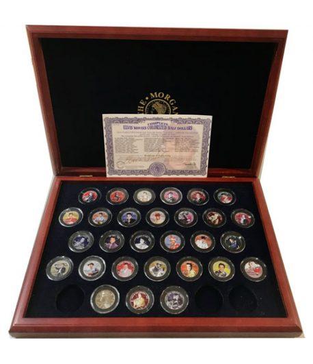 Monedas de plata de Estados Unidos 1/2 $ Elvis Presley 29 monedas.  - 1