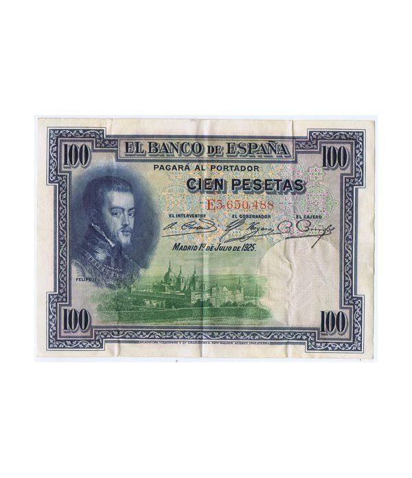 Lote de 10 Billetes de la Républica Española 100 Pesetas de 1925  - 1