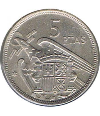 Moneda de España 5 Pesetas 1957 *19-75 Madrid SC  - 1