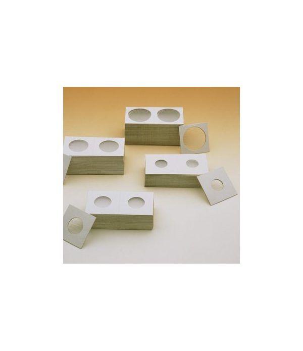 FILOBER Cartones monedas de 25 mm. (100) Cartones Monedas - 2