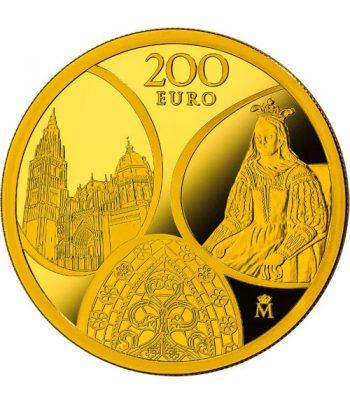 Moneda 2020 Gótico Serie EUROPA. 200 euros. Oro  - 1