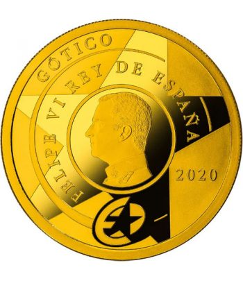 Moneda 2020 Gótico Serie EUROPA. 200 euros. Oro  - 2