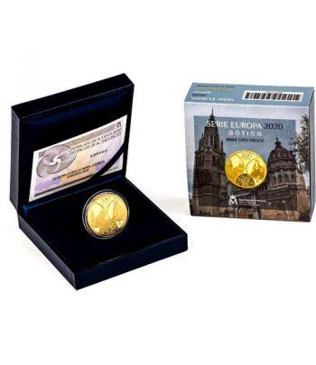 Moneda 2020 Gótico Serie EUROPA. 200 euros. Oro  - 3