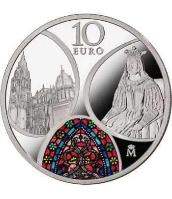 Moneda 2020 Gótico Serie EUROPA. 10 euros. Plata  - 1