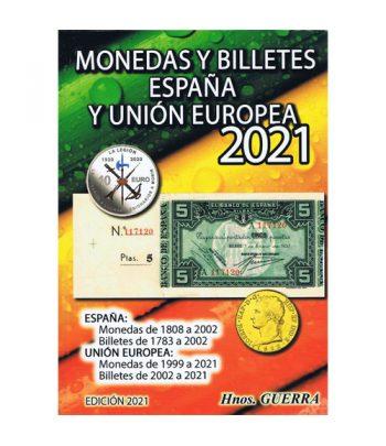 Catalogo Monedas y billetes España y Unión Europea 2021. Catalogos Monedas - 1