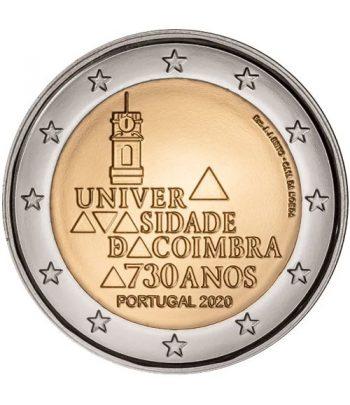 moneda conmemorativa 2 euros Portugal 2020 Universidad de Coímbra  - 1