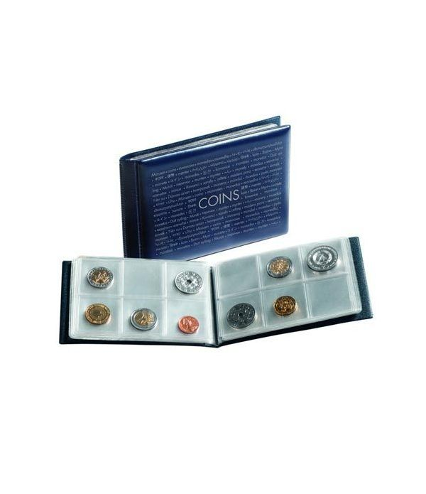 LEUCHTTURM Album monedas bolsillo ROUTE para 48 monedas. Album Monedas - 1