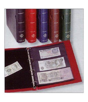 LEUCHTTURM VARIO F tapa con cajetin +10 hojas para billetes Album billetes - 2