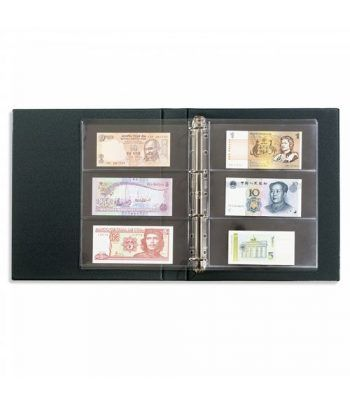 LEUCHTTURM VARIO F tapa con cajetin +10 hojas para billetes Album billetes - 4