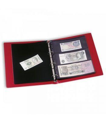 LEUCHTTURM VARIO F tapa con cajetin +10 hojas para billetes Album billetes - 6