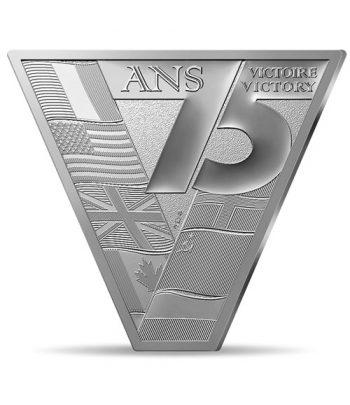 Moneda de plata de Francia año 2020 10 euros Victoria 75 años de Paz.  - 1