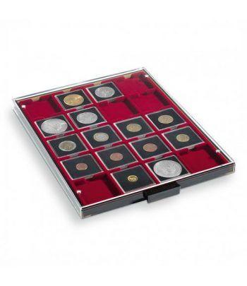LEUCHTTURM Bandejas MB (236x303)20 monedas. Cartones. Bandeja Monedas - 2
