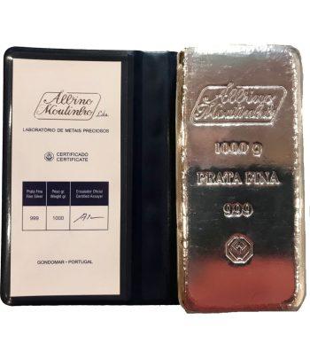 Lingote de 1 kilogramo de plata fina  - 5