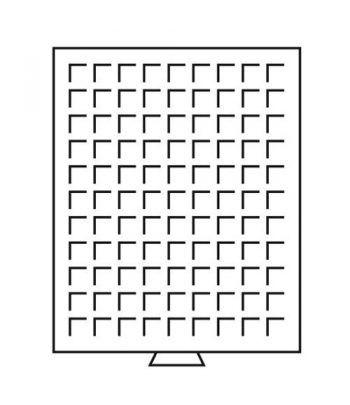 LEUCHTTURM Bandejas MB (236x303) 99 monedas hasta 19 mm. Bandeja Monedas - 1