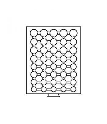 LEUCHTTURM Bandejas MB (236x303) 05 colecciones EUROS Bandeja Monedas - 1