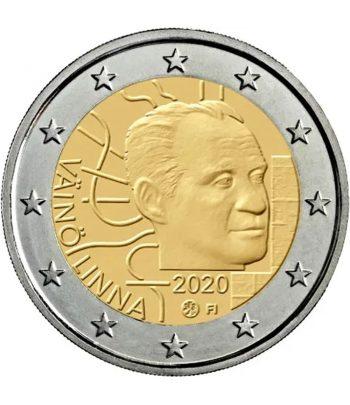 moneda de Finlandia 2 euros 2020 dedicada a Vaino Linna  - 1