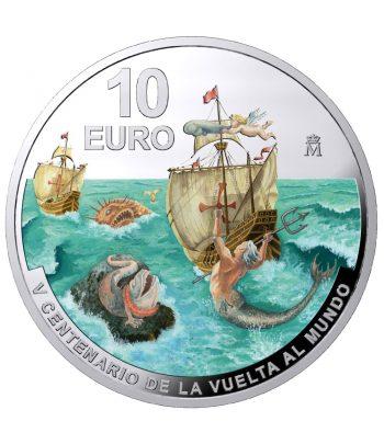 Moneda de España año 2020 V Centenario Vuelta al Mundo. 10 euros Plata  - 1
