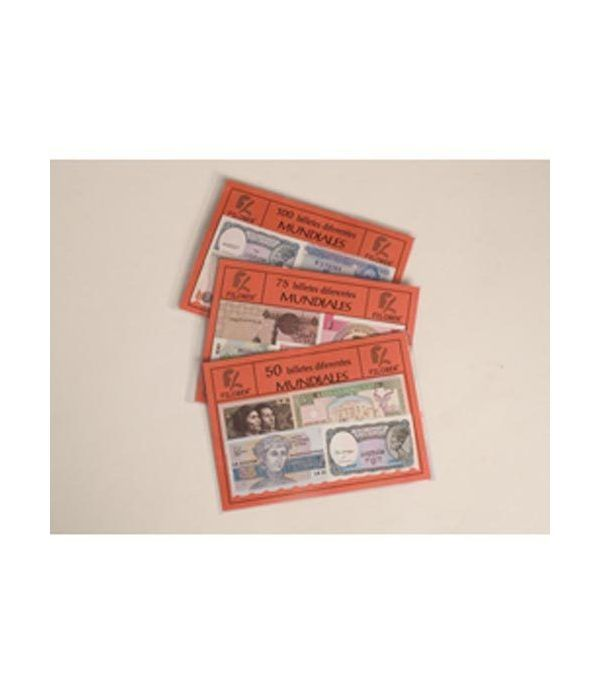 100 Billetes Mundiales diferentes  - 2