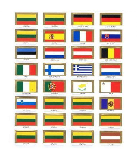 PARDO 32 Banderas Album Monedas Euro - 2