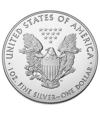 Moneda 1$ Estados Unidos Liberty 2021 onza de plata .  - 2