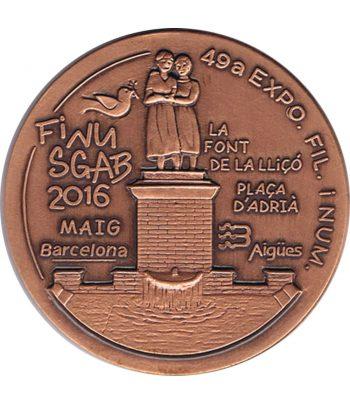 Medalla de bronce Exposición Finusgab Barcelona 2016.  - 1