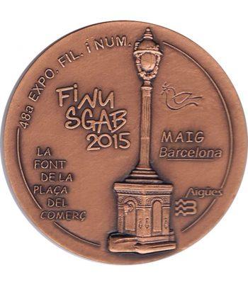 Medalla de bronce Exposición Finusgab Barcelona 2015.  - 1