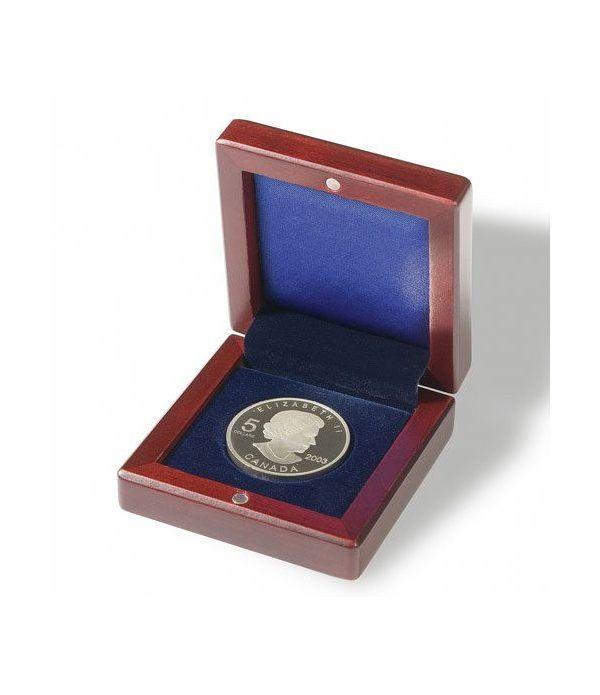 LEUCHTTURM Estuche VOLTERRA 1 moneda 60 mm Ø. Estuche Monedas - 1