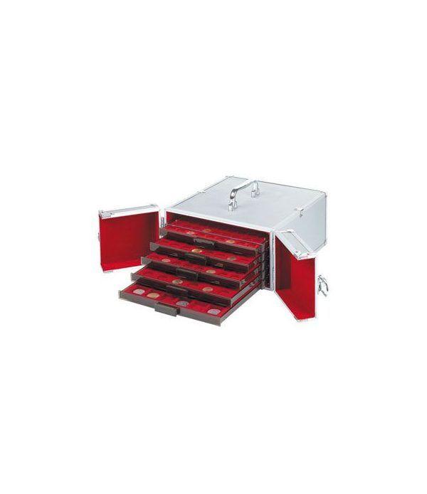 LEUCHTTURM Maletin aluminio CARGO MB 5 para 5 bandejas. Maletines monedas - 2