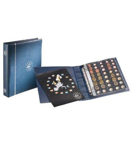 LEUCHTTURM OPTIMA Album Euro + 5 hojas (25 paises) Album Monedas Euro - 2