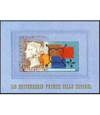 Prueba Lujo 071A 150 Anivesario Sello Epañol Carnet 3711AC  - 1