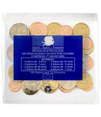 monedas de euro Francia 2021 en Starter Kit.  - 1