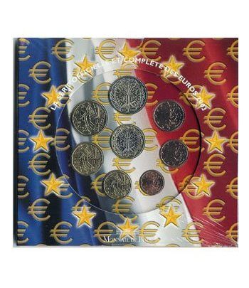Cartera oficial euroset Francia 2003  - 2