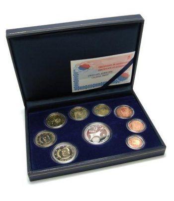 Cartera oficial euroset España 2002 (Proof)  - 2