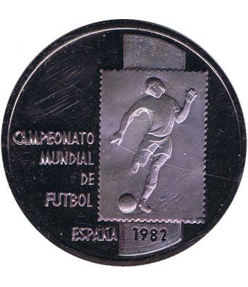 Medalla de plata Campeonato Mundial de Futbol España 82  - 1