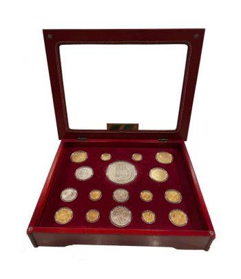 Colección Historia de la Moneda Española. 17 monedas.  - 1