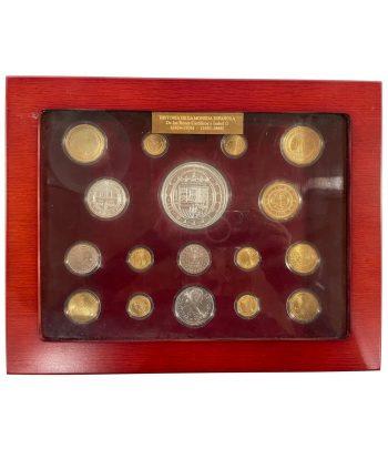 Colección Historia de la Moneda Española. 17 monedas.  - 2