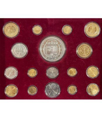Colección Historia de la Moneda Española. 17 monedas.  - 3