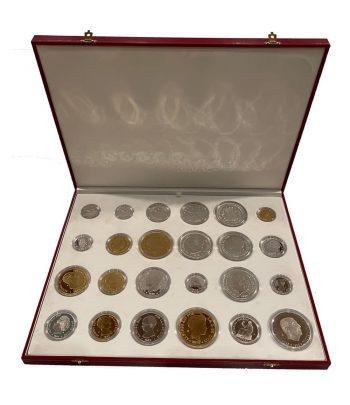 Colección Historia de la Peseta. 24 monedas.  - 1