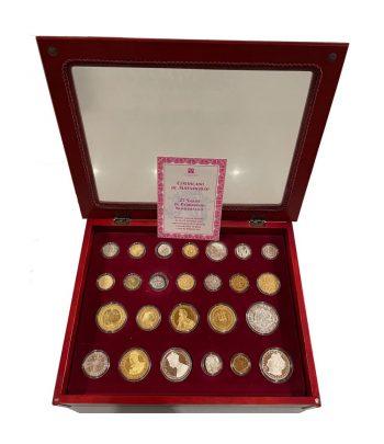Colección 25 Siglos de Patrimonio Numismático. 25 monedas.  - 1