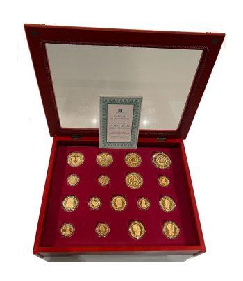 Colección La Moneda de Oro Española. 17 monedas.  - 1