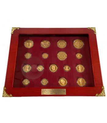 Colección La Moneda de Oro Española. 17 monedas.  - 2