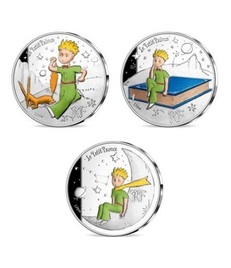 Monedas 10 euros de plata Francia año 2021. 75 Aniversario Principito  - 1