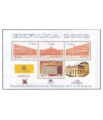 3906 HB Exposición Filatélica Nacional EXFILNA 2002  - 2
