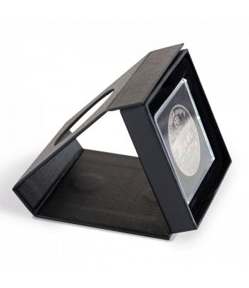 LEUCHTTURM Estuche AIRBOX con ventana para 1 cápsula QUADRUM.  - 1
