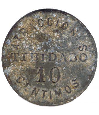 Ficha 10 céntimos Parque Atracciones Tibidabo  - 1
