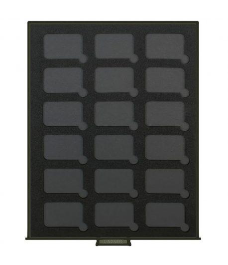 LINDNER Bandeja para 18 lingotes de 27x47mm.  - 1