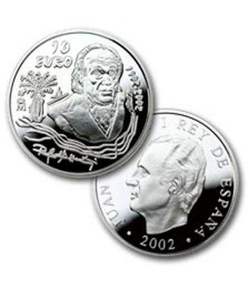 Moneda 2002 Rafael Alberti. 10 euros. Plata.  - 2