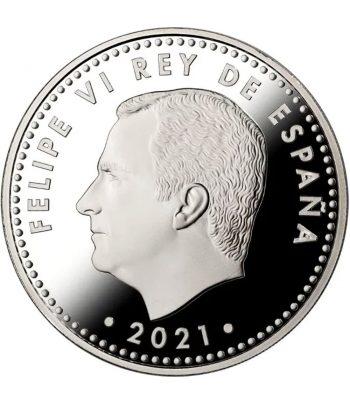 Moneda de España año 2021 Catedral de Burgos. 10 euros Plata  - 2